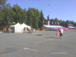 Прокат на площади Ленина
