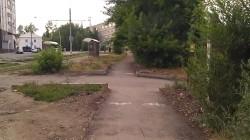 Велодорожка на севере